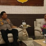 Bali police chief Receives Visit from Udayana University Chancellor