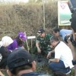 Kodim Bangli Gelar Penghijauan Jaga Kintamani Tetap Asri