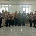 Danrem 163 Wira Satya Terima Audiensi Pengurus Baru FKPPI Provinsi Bali