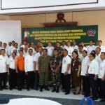 Korem 163 Wira Satya Gelar Komunikasi Sosial Bersama Aparat Pemerintah