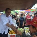 Presiden RI Jokowi Kunjungan ke Pasar Seni Sukawati Gianyar