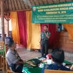Komsos Kodim Klungkung Bersama Aparat Pemerintah Sebagai Media Simakrama