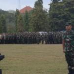 Kasdam IX/Udayana Pimpin Apel Gelar Pasukan Pengamanan VVIP