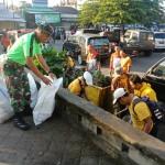 Pasar Umum Payangan Jadi Sasaran Bersih-Bersih Sampah Plastik