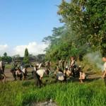 Kodim Klungkung Bersama Warga Persiapan Pembukaan TMMD Ke 105 TA. 2019