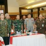 Kerjasama, Kodam IX/Udayana Gelar Komsos dengan Aparat Pemerintah Bali
