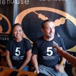 Hut Ke-5th GourmetSate House di Kuta Bali
