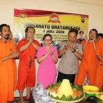 Polres Tabanan Rayakan Hari Bhayangkara ke – 73 bersama Tahanan