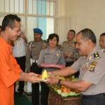 Hut Bhayangkara Ke-73 Bhayangkara Bersama Para Tahanan