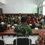 Kegiatan Non Fisik TMMD Ke 105 Kodim Klungkung, Semarakan Lomba Yel-Yel Dan Pidato.