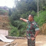 Danrem 163 Wira Satya Tinjau Lokasi TMMD  Kodim Klungkung
