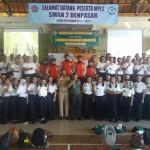 MPLS di SMA Dandim 1611/Badung Berikan Wawasan Kebangsaan