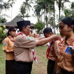 Pramuka SMK Farmasi Saraswati 3 Denpasar Terima 73 Tamu Ambalan