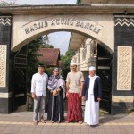 Bersama Kapolres Bangli Ikuti Sholat Ied di Masjid Agung Bangli.