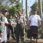 Kunjungan Tim Wasev Mabes TNI AD Ke Lokasi TMMD 105 Kodim Klungkung