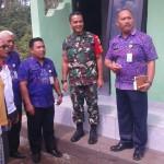 TNI Menunggal Membangun Desa (TMMD) Reguller Ke105 Tahun 2019