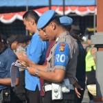 Aggota Polisi Pengamanan Untuk Kesiapan Malam Takbiran Dan Sholat Idul Adha