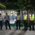 Siaga Personel Polres  Amankan Acara Takbir Keliling Warga Muslim Bangli