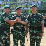 Sertjab Danyonif Raider 900/Satya Bhakti Wirottama Di Pimpin Oleh Pangdam IX/Udayana.