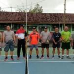 Kodim Bangli dan Polres Olahraga Bersama, Sambut Hut Ke 74 TNI.