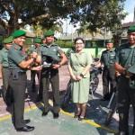 Kodim Klungkung Terima 7 Unit Trail Untuk Membantu Operasional Babinsa.