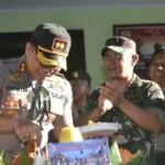 Polres Badung Ucapkan Hut TNI Ke-74 Tahun