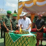 Syukuran Hut Ke-74 TNI Sekaligus Serka Astawa Usai Run For Bali
