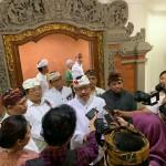 Cok Ace Membuka Symposium Suksma Bali, Menyelamatkan Keberlangsungan Air Bali.