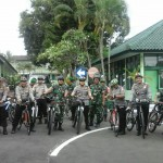 TNI-Polri Sinergitas, Gelar Patroli Bersama.