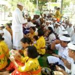 Purnama Kelima Piodalan Pura Ksatri Raksa Bhuwana Korem 163/Wira Satya
