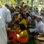 Piodalan Pura Ksatri Raksa Bhuwana Korem 163/Wira Satya