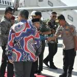 Kedatangan Wakil Presiden Republik Indonesia di Provinsi Bali di Sambut Waka Polda Bali