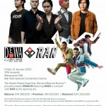 The Westin Resort Nusa Dua, Bali is delighted to announce that Dewa 19 will be performing live.
