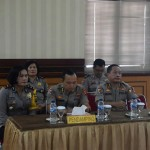 The Visit of the Wasopsum Waswasum Police Headquarters Team, Welcomed by the Deputy Chief of Badung Police.