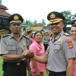 Upacara Korp Raport 55 Personel Yang Naik Pangkat Hari Ini