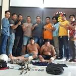 Jajaran Resmob Polda Bali Bekuk Pelaku Curas Menggunakan Senjata Tajam