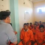 Kasat Bimas Berikan Siraman Rohani Para Tahanan Polres Gianyar