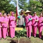 Program Penghijauan di Seluruh Markas Komando Polri, Kapolda Bali Tanam Pohon di SPN Singaraja.