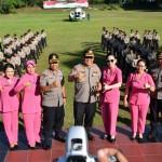 Penghijauan di Markas Komando Polri, Kapolda Bali Tanam Pohon di SPN Singaraja.