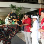 Lively Cap Go Meh Celebration at Discovery Kartika Plaza Hotel