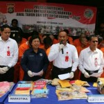 Dit Resnarkoba Polda Bali dan Sat Res Narkoba Polresta, Ringkus 73 Orang Pengedar Narkoba.