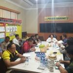 Kasat Reskrim Polres Badung  Sambut Tim Supervisi Ditreskrimum Polda Bali.