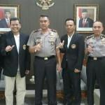 Team Taekwondo Indonesia Kunjungan Ke Polda Bali.