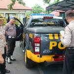 Polres Karangasem Cek Kesiapan dan Kelengkapan Kendaraan untuk Patroli