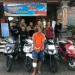 Tim Opsnal Polsek Mengwi Ciduk, Seorang Residivis Mengaku Mencuri Di Lima TKP.