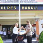 Polres Bangli Bersama BPS Sosialisasi Sensus Online, Dukung Program Pemerintah.