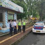 Tim Sat Lantas Polres Bangli, Lakukan Pengamanan Car Free Day.
