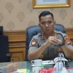 Kepala Kepolisian Resor Badung AKBP Roby, Pimpin Anev Mingguan.