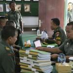 Korem 163/Wira Satya Menerima Tim Pengawasan dan Pemeriksaan (Wasrik)