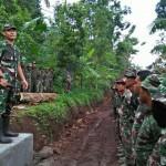Program TMMD Desa Panjianom Tetap Berjalan Di Tengah Kewaspadaan Terhadap Covid 19